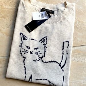 NWT Banana Republic Cat Sweater